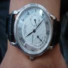 台中流當手錶拍賣 原裝 ZENITH 先力 PT950 白金 手上鍊 男錶 9成5新