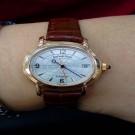 台中流當手錶拍賣 Audemars piguet 愛彼 千禧 18K玫瑰金 自動 女錶 9成5新 喜歡價可議