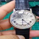 台中流當手錶拍賣 原裝 卡地亞 ROTONDE DE CARTIER 晝夜顯示 月相PD950鈀金 自動 9成5新